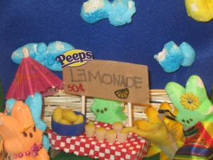 Lemonade Peep Stand