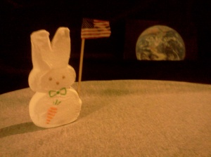 One small step for man, one giant Peep for mankind